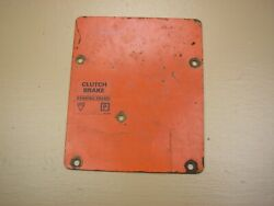 Case Ingersoll 446 Tractor Mower Dash Cover Plate