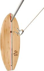 Tiki Toss Hook And Ring Toss Game - Americana Deluxe Edition - Indoor Outdoor