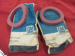 Nos 56-65 Chevrolet Chevy Rear Pinion Seal Packing Pair 2022006 Med Duty Truck