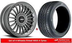 Alloy Wheels And Tyres 19 Rotiform Buc-m For Infiniti M45 [mk1] 03-04