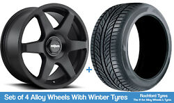 Rotiform Winter Alloy Wheels And Snow Tyres 19 For Jeep Liberty [mk2] 08-13