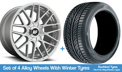 Rotiform Winter Alloy Wheels And Snow Tyres 19 For Infiniti M45 [mk1] 03-04