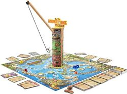 Tiki Toss Hook And Ring Toss Game - Adventure Island Family Board Game