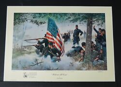 Dale Gallon - Hold At All Costs - Collectible Civil War Print - Mint