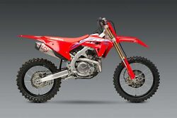 Yoshimura Rs-12 Stainless Steel Full Exhaust System - Crf450r/rx 2021