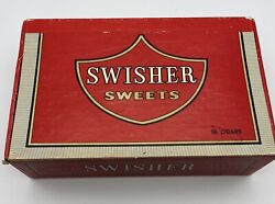 Vintage Swisher Sweets 5 Cent Advertising Cigar Box By King Edward - Nice