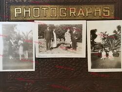 Vtg Photos 1930's Bandw Berglund Family Couples Men And Women Fashion Candid Poses