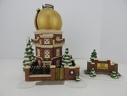 Dept 56 Dickens Village The Old Royal Observatory Gold Dome 58451 1224/5500