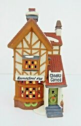 Dept 56 Dickens Village Bumpstead Nye Cloaks And Canes 58084 Old Store Stock W/bx