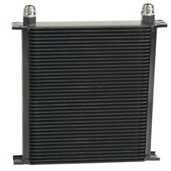 Derale Stack Plate Oil Cooler 4 0 Row 12an