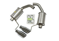 Axle Back Exhaust Kit 15-16 Mustang V6/i4 Roush Performance Parts 421837 W/round