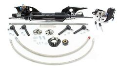 Power Rack And Pinion Early And03967 Mustang Unisteer Perf Products 8010820 01