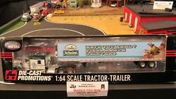 Dcp31268 The Pizza Ranch Kw W900 Semi Cab Truck Reefer Van Trailer 164/pk