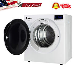 Household Clothes Drum Dryer Machine Laundry W/ Led Display And Filter Mesh Cotton