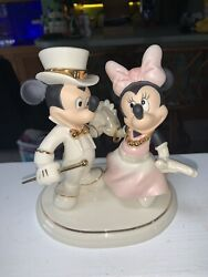 Lenox Disney Showcase Collection Dancing Til Dawn Mickey And Minnie Mouse Figure