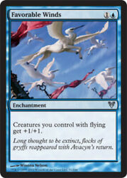 Mtg Magic Cards 2x X2 Light Play English Favorable Winds Avacyn Restored