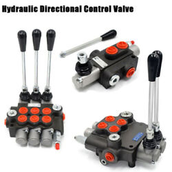 1/2/3 Spool Hydraulic Directional Control Valve Tractor Loader W/joystick 11 Gpm