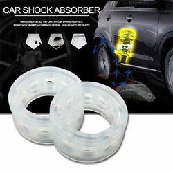 2pcs Car Shock Absorber Spring Bumper Power Auto-buffers F Type Springs Bumpers