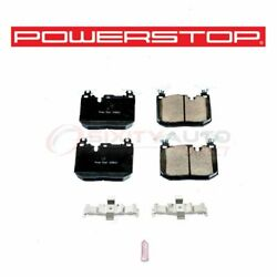 Powerstop Front Disc Brake Pad And Hardware Kit For 2014-2016 Bmw 428i - Ac