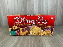 Wabash Valley Farms The Original Whirley-pop 3-minute Popcorn Popper - New