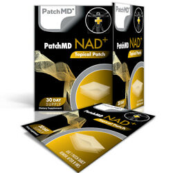 Patchmd Nad + Total Recovery - Topical Patch 30 Day Supply - Exp 2022 - New