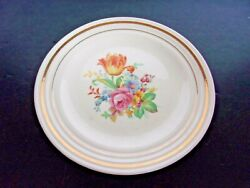 1940and039s Upico Ivory Universal Cambridge Bread And Butter Plate