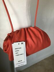 Steve Madden Bnecture Small Soft Crossbody Coral NWT MSRP $49.00 $29.99