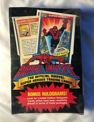 1990 Impel Marvel Universe Series 1/ 1 Trading Card Box - Sealed Box Of 36 Packs