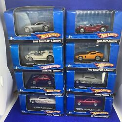 8x 1/87 Ho Scale Hot Wheels Mustang Beetle Others