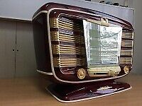Vintage Antique Old Original Radio Star 54 Year Of Release 1954.