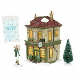 Dept 56 Dickens Village London Bakery Boxed Set/4 6005401 Brand New N Box