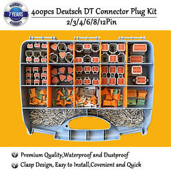 Genuine Deutsch Dt Connector14-16 Awg Stamped Contacts Kit Automotive Dt-kit8