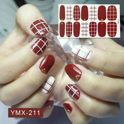 Colorful Street Nail Polish Strips-regular Petite Pedicure-fall And Christmas