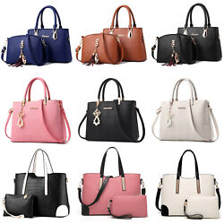Fashion Women Handbag PU Leather Crossbody Clutches Satchel Bag Purse Top Handle $20.90