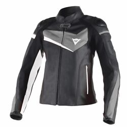New Danese 1.2m Cowhide Leather Motorbike Track Racing Jacket With Ce Protection