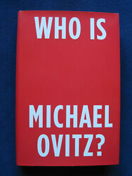 Who Is Michael Ovitz - Signed By Hollywood Agent Michael Ovitz, 1st In Jacket