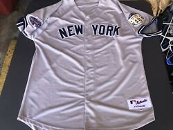 Authentic Majestic New York Yankees Jersey 13 Alex Rodriguez Size 54 New