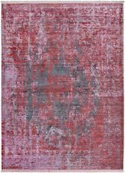 Brooklyn Carpet Modern Area Rugs For Home Living Room Red 5and039 7 X 7and039 7 Feet