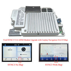Genuine Sync 3 Apim Module With Navigation Na119 3.4 Version For Ford Lincoln