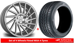 Alloy Wheels And Tyres Wider Rears 20 Riviera Rv135 Bmw 4 Series [f32]
