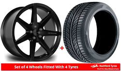 Alloy Wheels And Tyres 19 Riviera Rv177 For Audi A4 [b8] 08-15