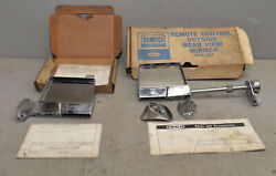 2 1965 Outside Original Ford Mirror Fairlane Galaxie Falcon Mustang Oem Part Lot