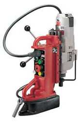 Milwaukee 4209-1 Adjustable Position Electromagnetic Drill Press W/no. 3 Mt