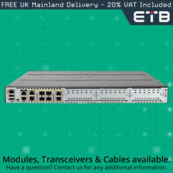 Cisco Isr4431/k9 Integrated Services Router 2x 1gb Rj-45 Ports W/ Sec-k9