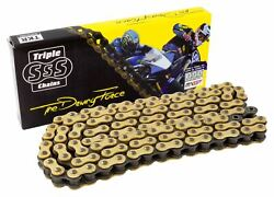 Motorcycle O-ring 520 Chain Gold 7.5m Roll 473 Link