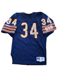 Vintage Walter Payton Jersey Russell Athletic 42 Authentic 80s Gsh Chicago Bears