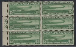 C13 Plate Block Vf Og Nh Post Office Fresh Free Next Day Shipping Orders 500+