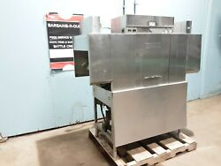 Hobart C44a Heavy Duty Stainless Steel Commercial 3ph Conveyor Dish Washer