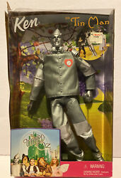 Wizard Of Oz Barbie Collection Mattel Ken As Tin Man Doll New Sealed 1999