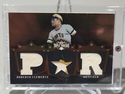 2007 Roberto Clemente Topps Triple Threads Game Worn Prime Patch Sp /27 Pirates